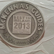 McKenna's Guides have awarded us Best in Ireland 2013