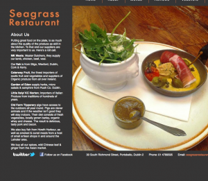 Screen Shot from www.seagrassdublin.com