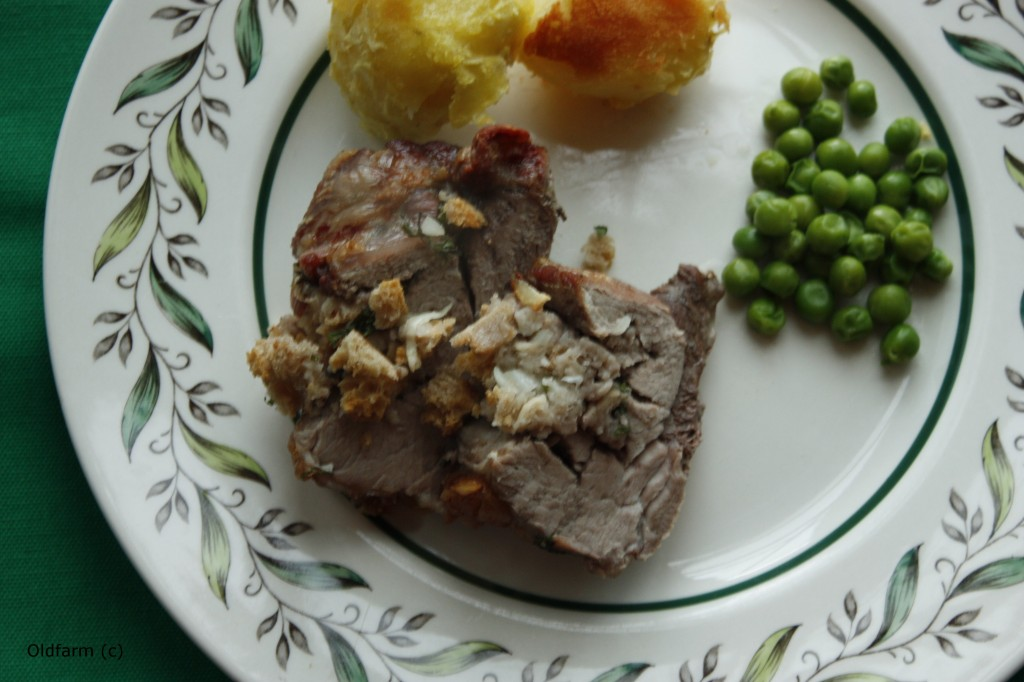 Stuffed Irish Pork Steak