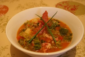 Irish Bacon & Cabbage Soup