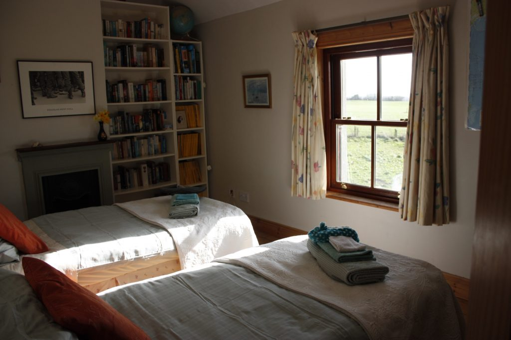 Our rooms Oldfarm Tipperary - the Library Room